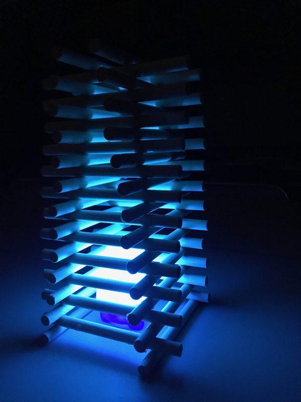 組み木ランプシェードのサムネイル