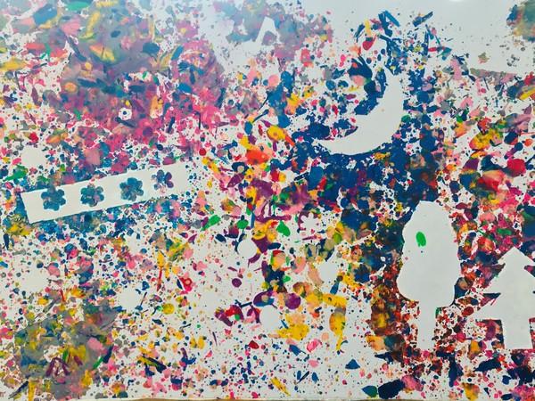 けずってとかしてクレヨンアートのサムネイル