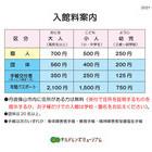 【2021年4月1日】入館料改定のご案内